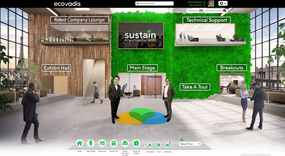 Covid-19: comment EcoVadis a digitalisé sa grand-messe annuelle, Marketing digital