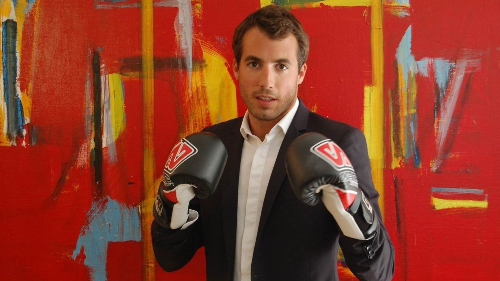 Stéphane Madelenat sur le ring avec l'Apollo Sporting Club, Success Story