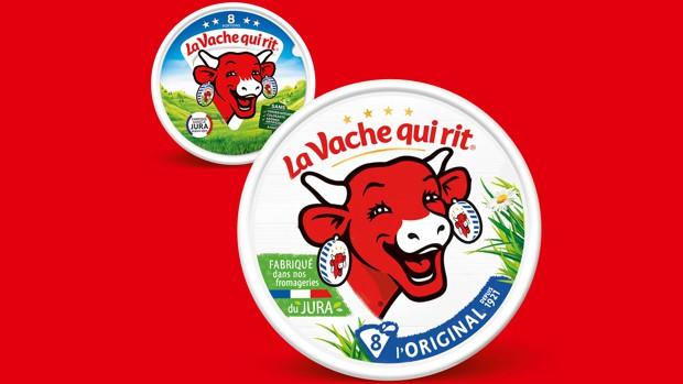 La Vache qui rit change de look et abandonne son fameux triangle, Branding