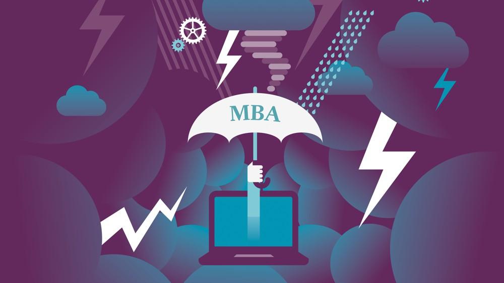 Et si vous optiez pour un MBA pour amortir le choc de la crise?, Parcours