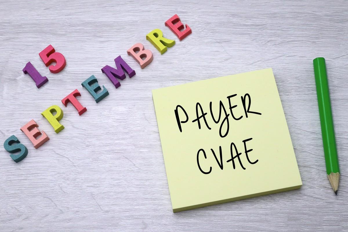 N'oubliez pas de payer votre second acompte de CVAE pour le 15septembre2020!, Fiscalité et droit des entreprises