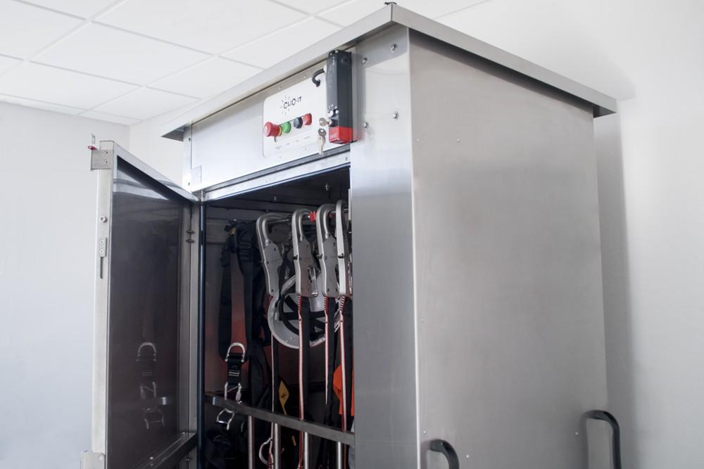 Clic-It invente l'armoire de désinfection à l'ozone, Le Lab/Idées