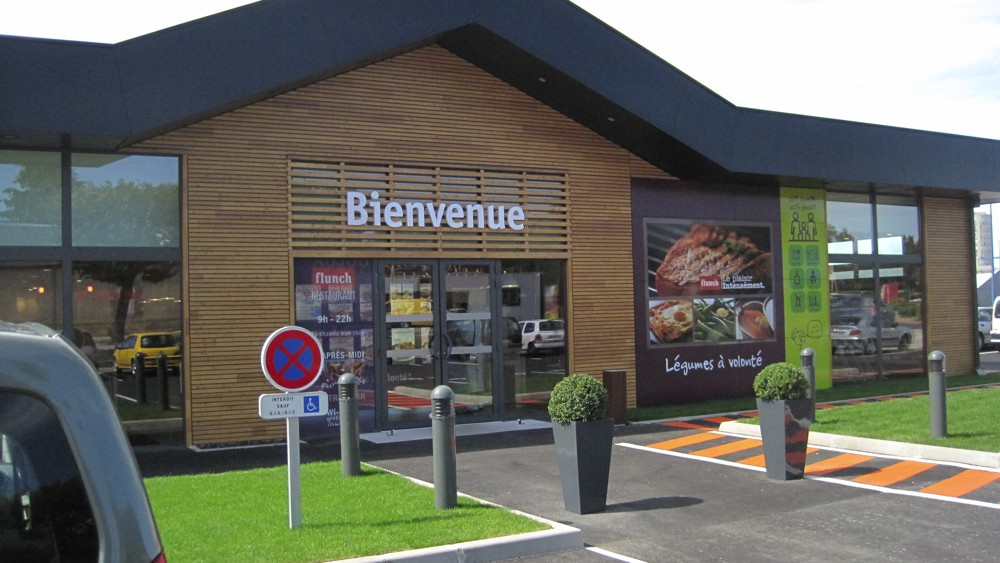 Flunch se met au click and collect et vise les centres-villes, Franchise