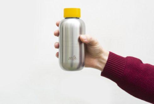 Zeste lance la première gourde en Inox fabriquée en France, Le Lab/Idées