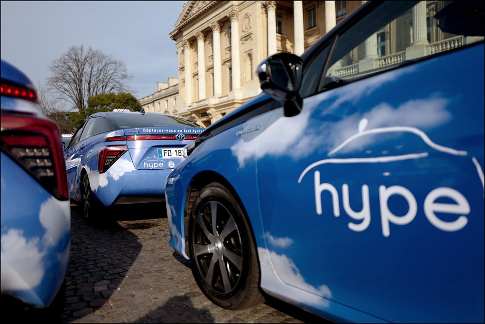 Les taxis à hydrogène Hype lèvent 80 millions pour racheter Slota, Financer la croissance